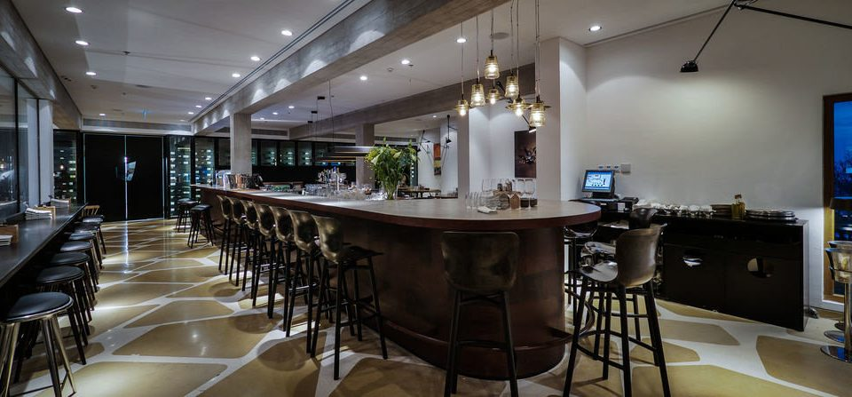 chair property restaurant Dining home Bar leather