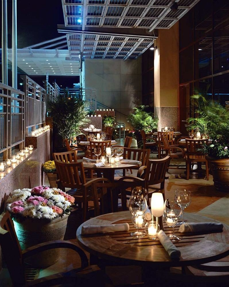 chair restaurant Dining lighting Bar set