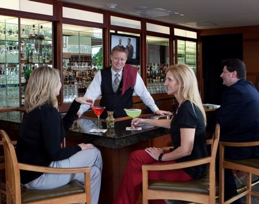 sitting group dinner restaurant library Dining working lunch seated dining table Bar