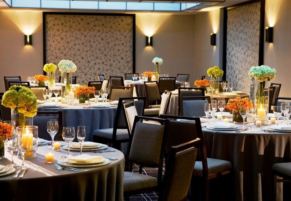 chair function hall restaurant Dining brunch banquet buffet Drink wedding reception ballroom Bar dinner set dining table