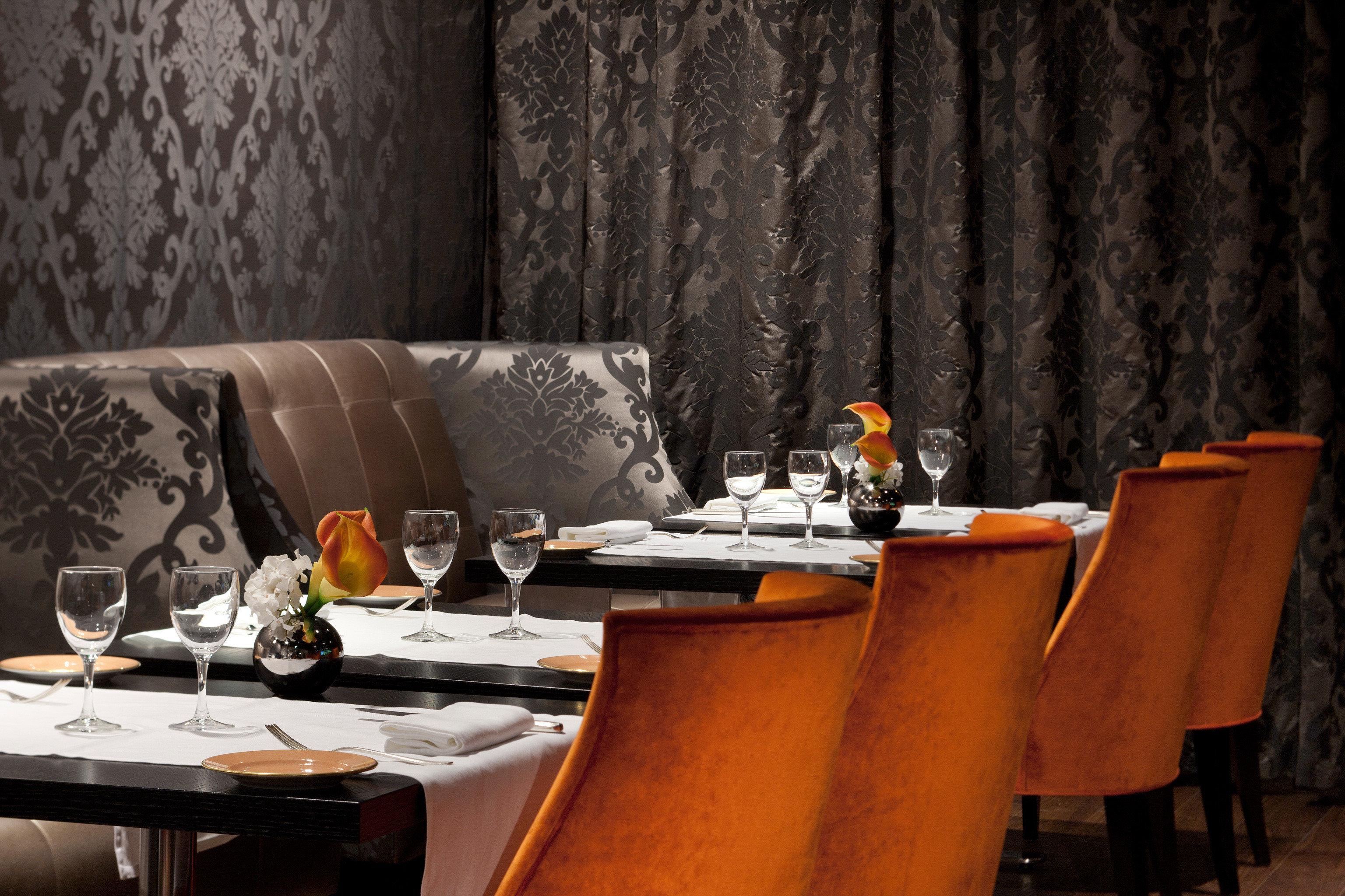 Dining Drink Eat Modern Resort curtain restaurant Bar set