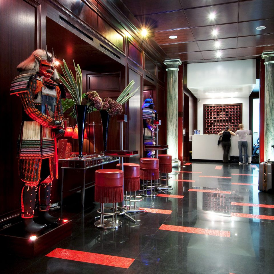 Bar Dining Drink Eat Elegant Hip Luxury Modern Nightlife stage nightclub Lobby restaurant