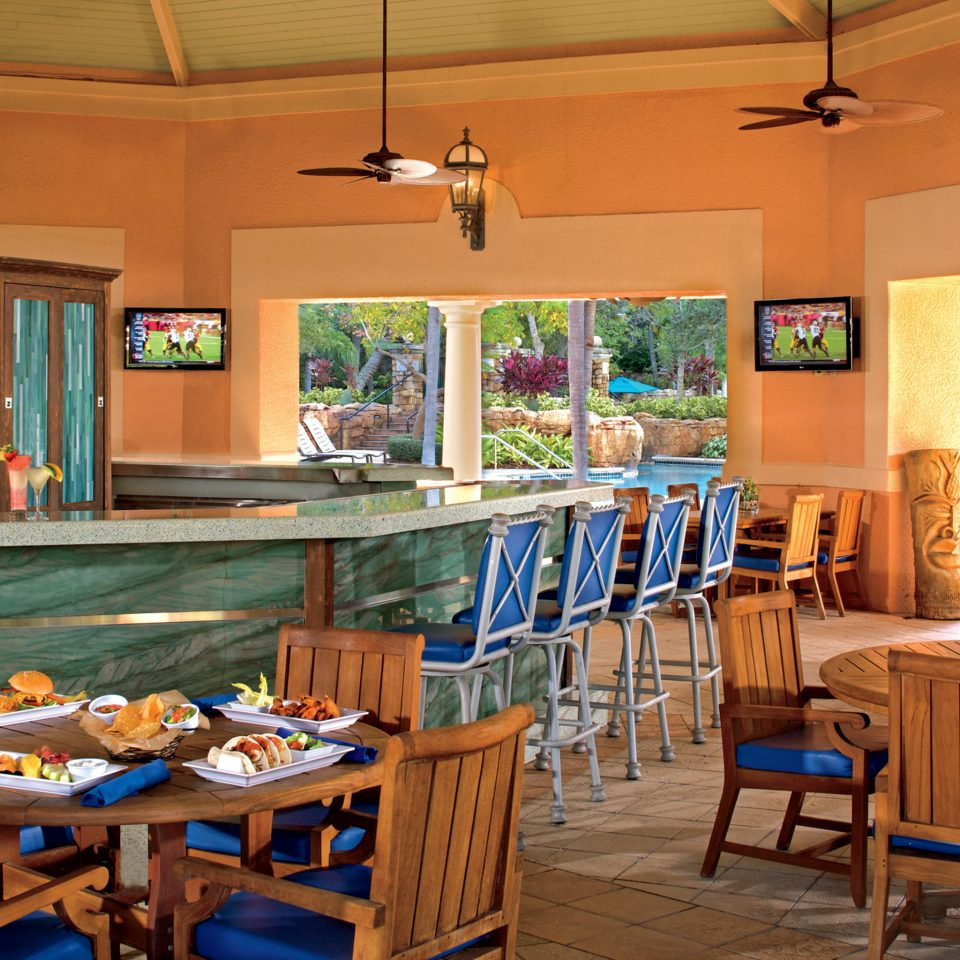Bar Dining Drink Eat Luxury chair restaurant Resort home cottage Island dining table