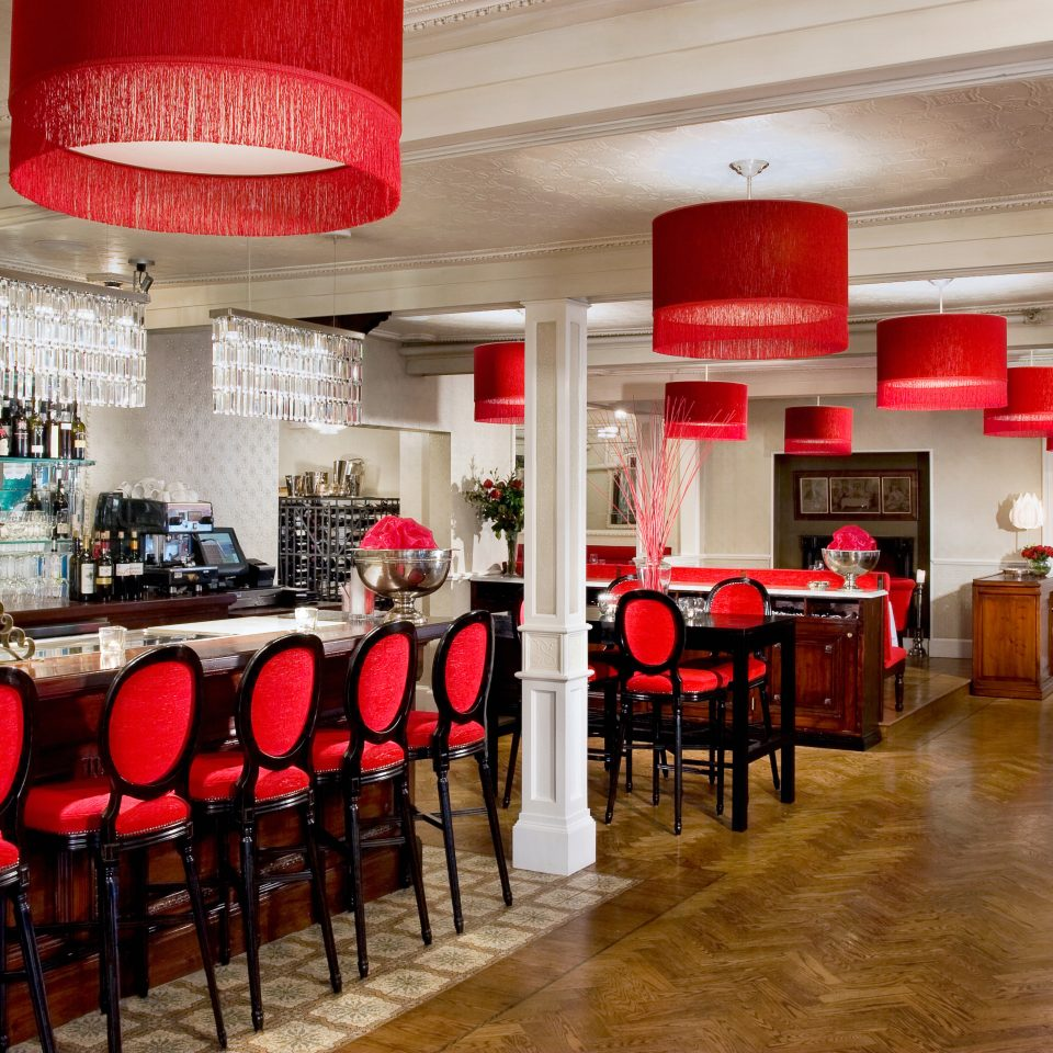Bar Dining Drink Eat Inn red chair restaurant