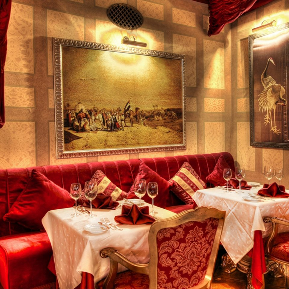 Bar Dining Drink Eat Elegant Historic Luxury restaurant red function hall