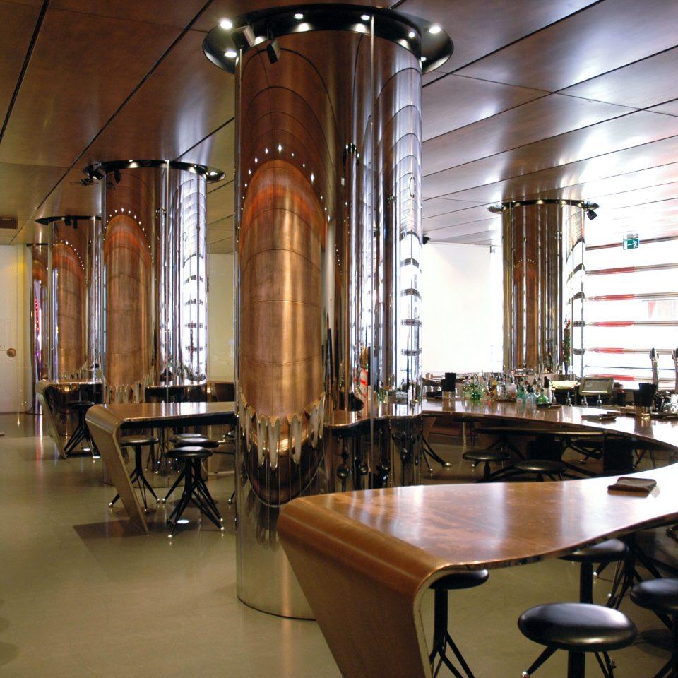 Bar Dining Drink Eat Hip Modern Nightlife building restaurant Lobby lighting