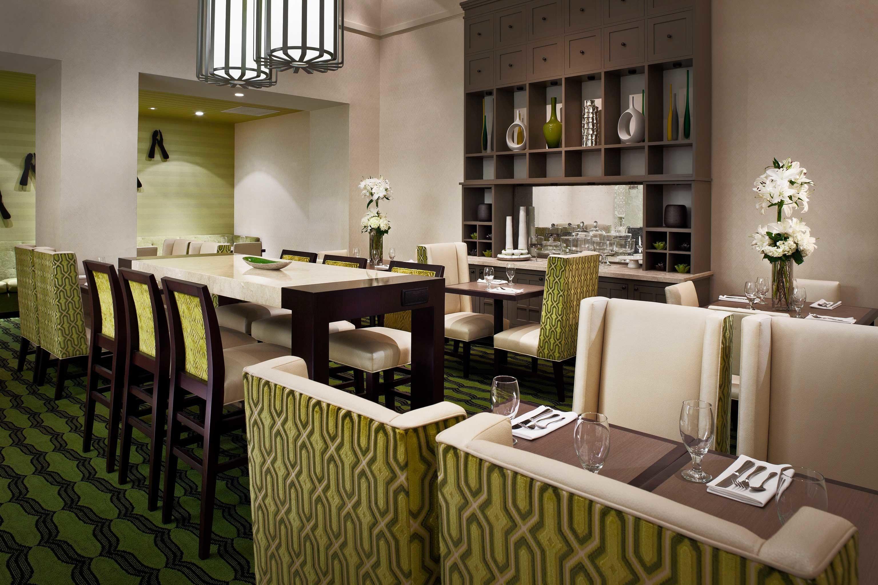Bar Dining Drink Eat Hip Modern property restaurant condominium function hall set