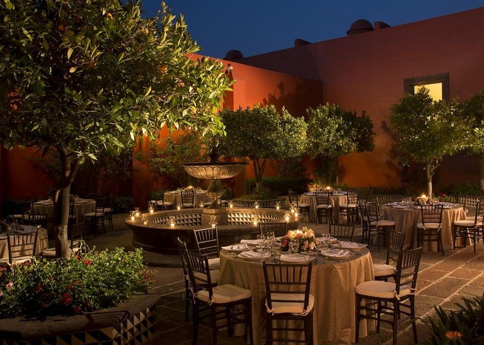Bar Dining Drink Eat Hip Luxury tree restaurant Resort hacienda function hall backyard set