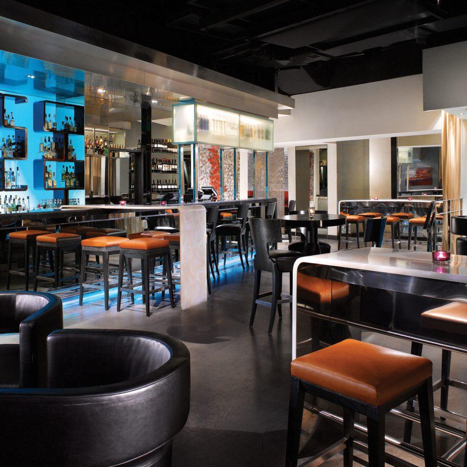 Bar Dining Drink Eat Hip Modern restaurant leather