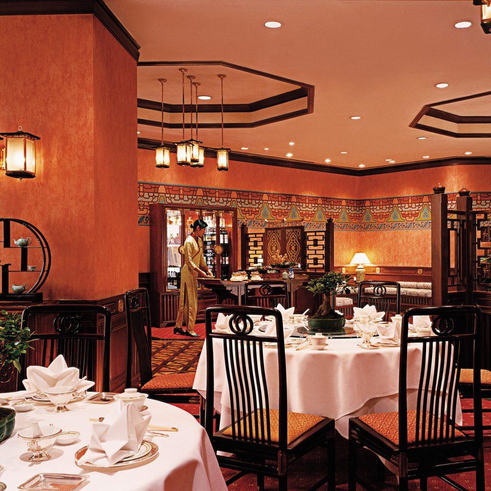 Bar Dining Drink Eat Elegant Luxury chair function hall restaurant ballroom set dining table