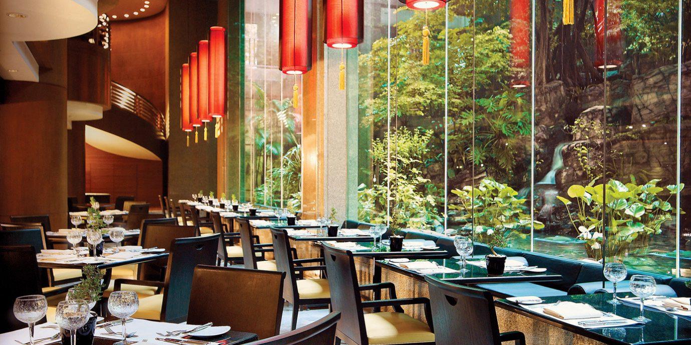 Bar Dining Drink Eat Luxury Modern chair restaurant lighting café Lobby coffeehouse set
