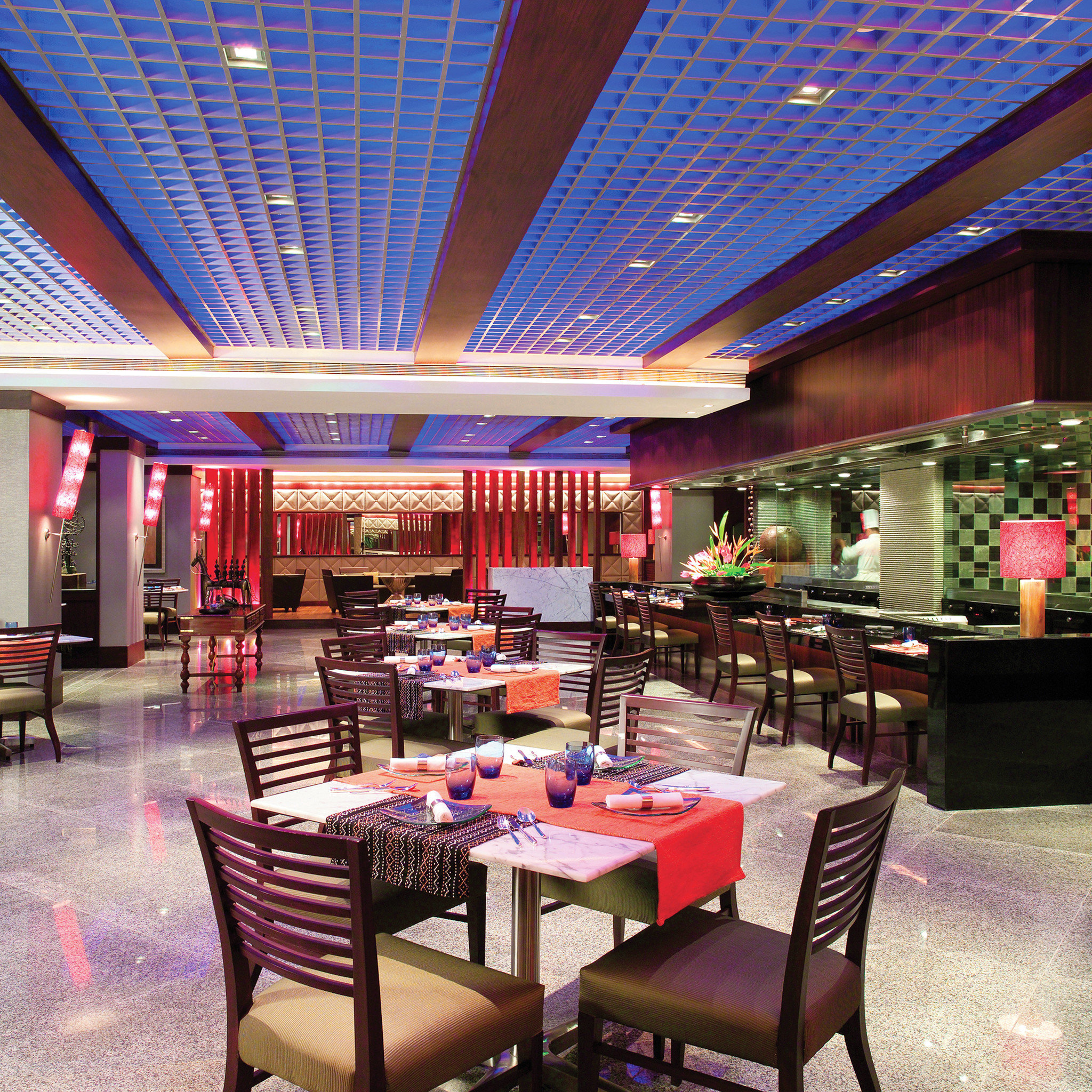 Dining Drink Eat Modern Romantic chair function hall restaurant Lobby convention center Bar nightclub food court Resort