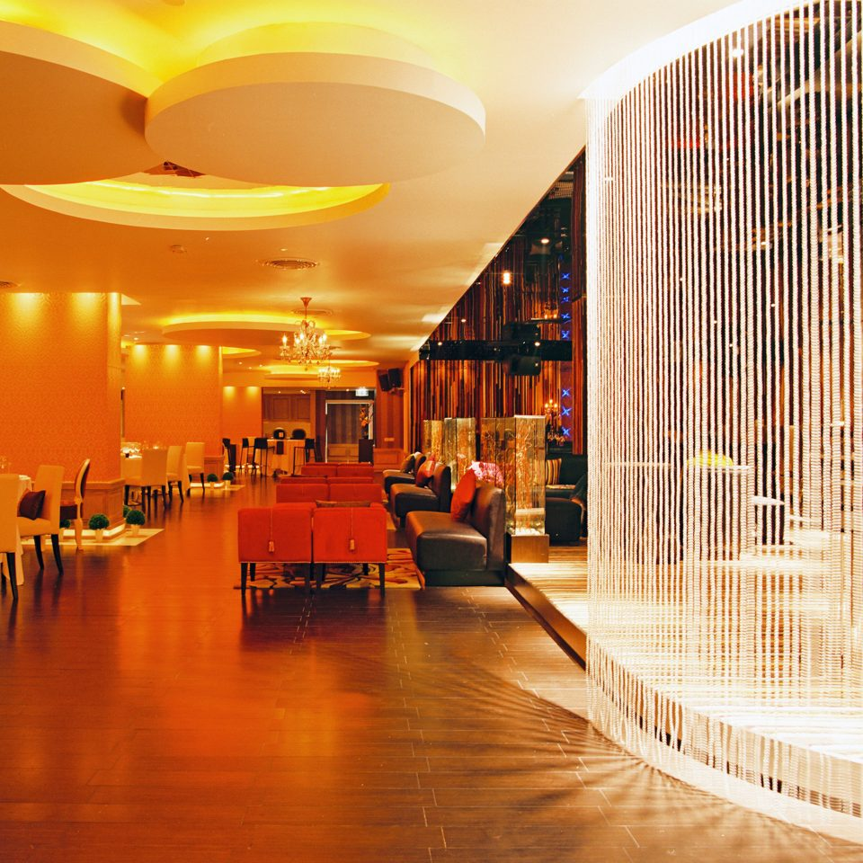 Bar Dining Drink Eat Hip Modern light night lighting Lobby restaurant