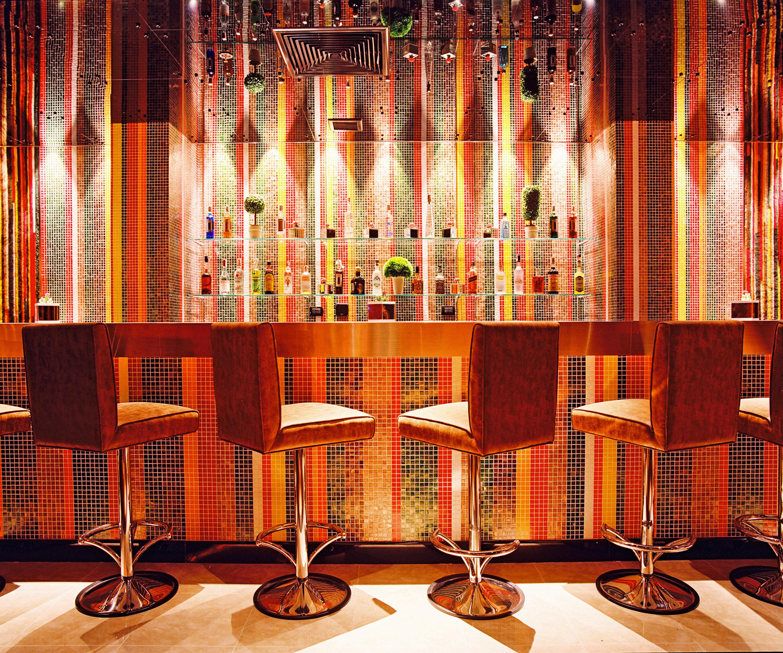 Bar Dining Drink Eat Hip Modern Lobby
