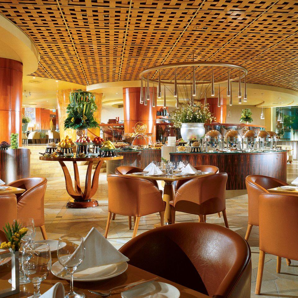 Bar Dining Drink Eat Hip Modern Romantic chair restaurant function hall Resort Lobby café set
