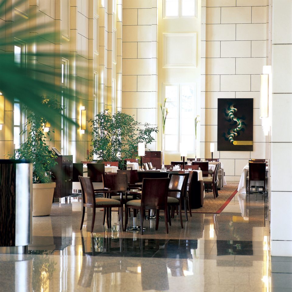 Bar Dining Drink Eat Luxury Modern Lobby restaurant lighting condominium flooring