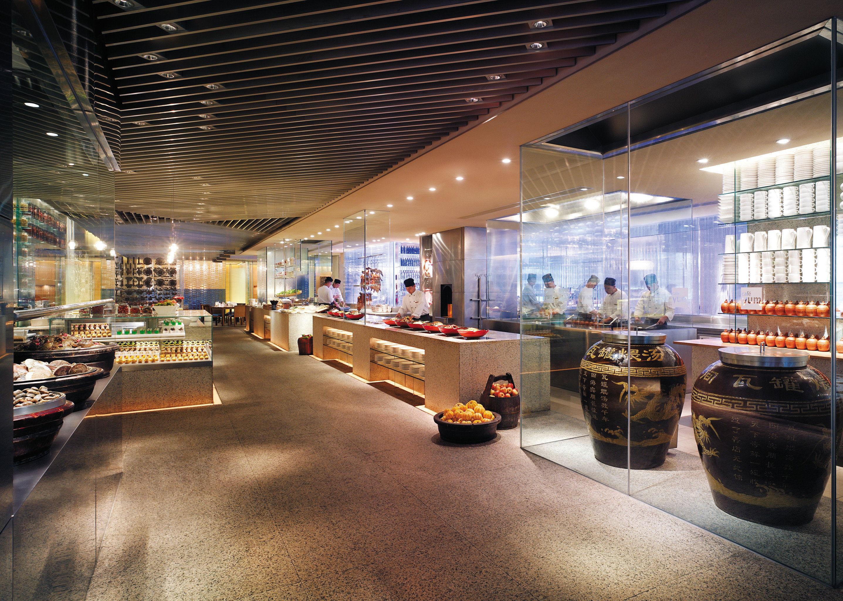 Bar Dining Drink Eat Modern building retail Lobby infrastructure shopping mall restaurant