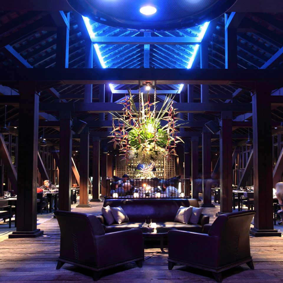 Bar Dining Drink Eat Hip Lounge Luxury Modern Nightlife Romantic stage lighting function hall Lobby nightclub night