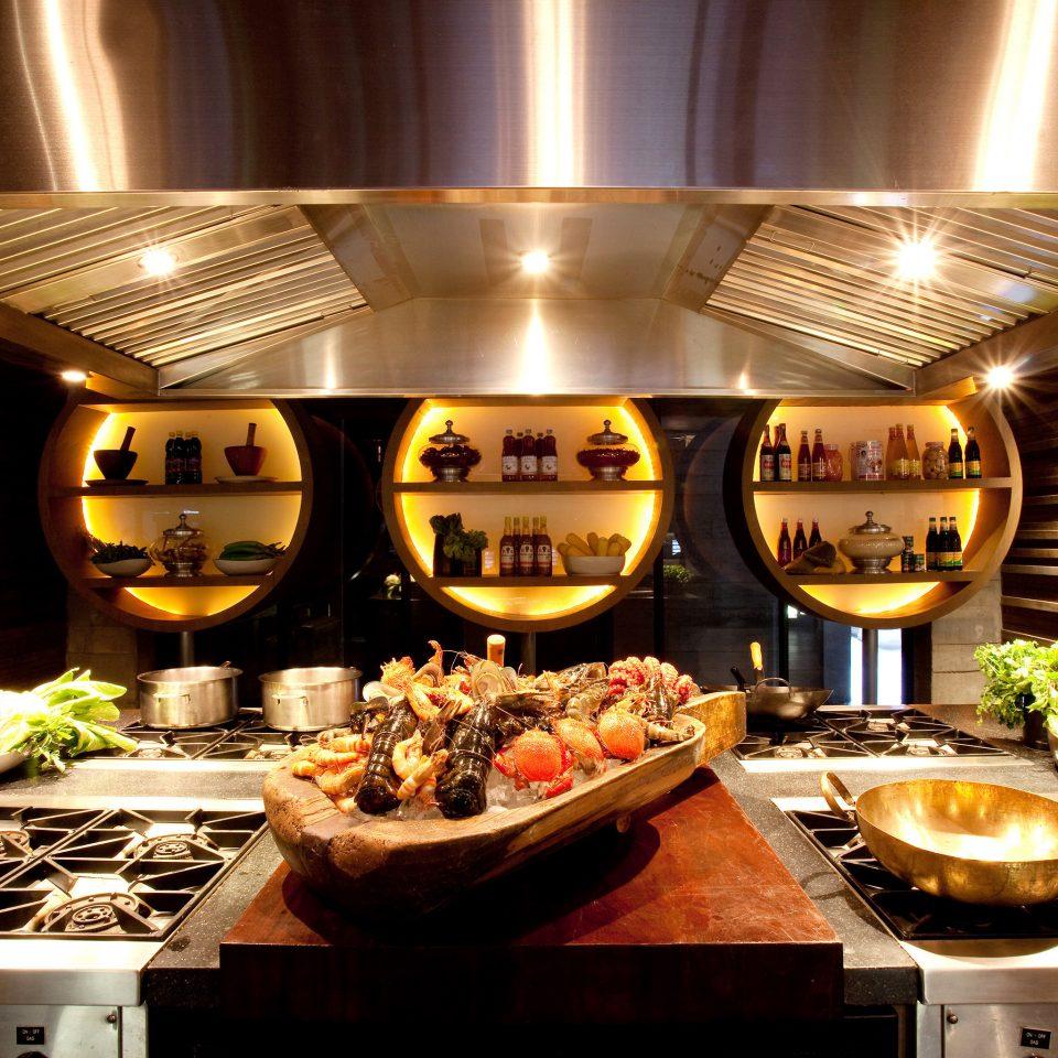 Bar Dining Drink Eat Hip Luxury Kitchen yacht vehicle restaurant counter buffet