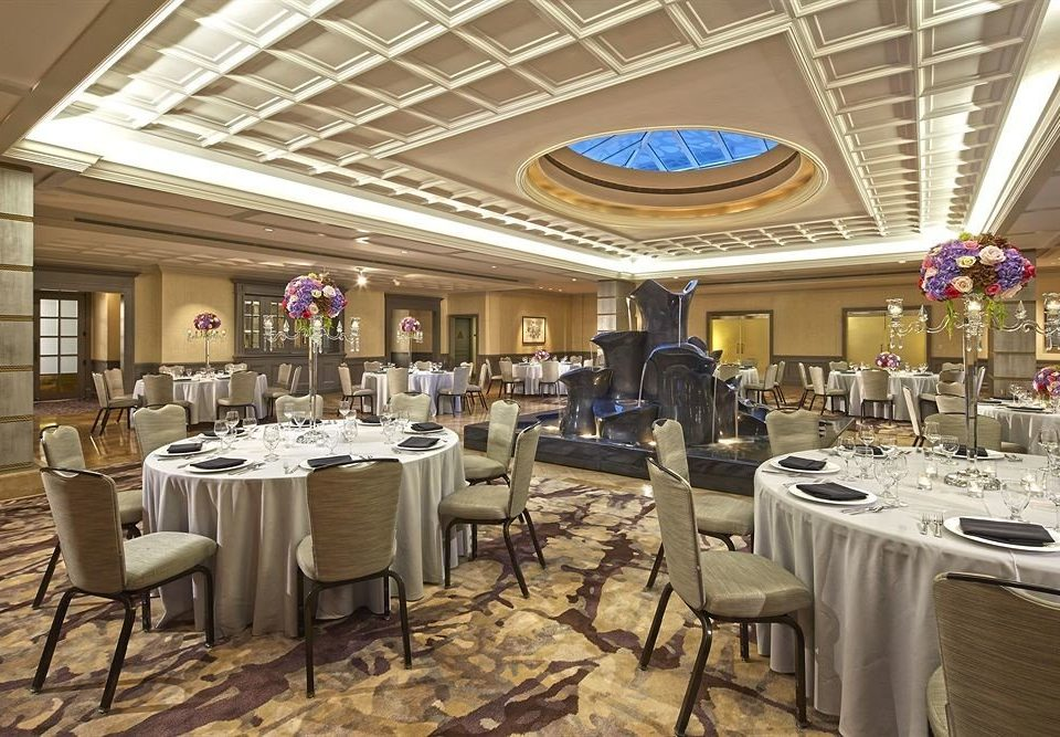 Bar Drink Eat Luxury Modern chair function hall restaurant banquet ballroom Dining convention center set