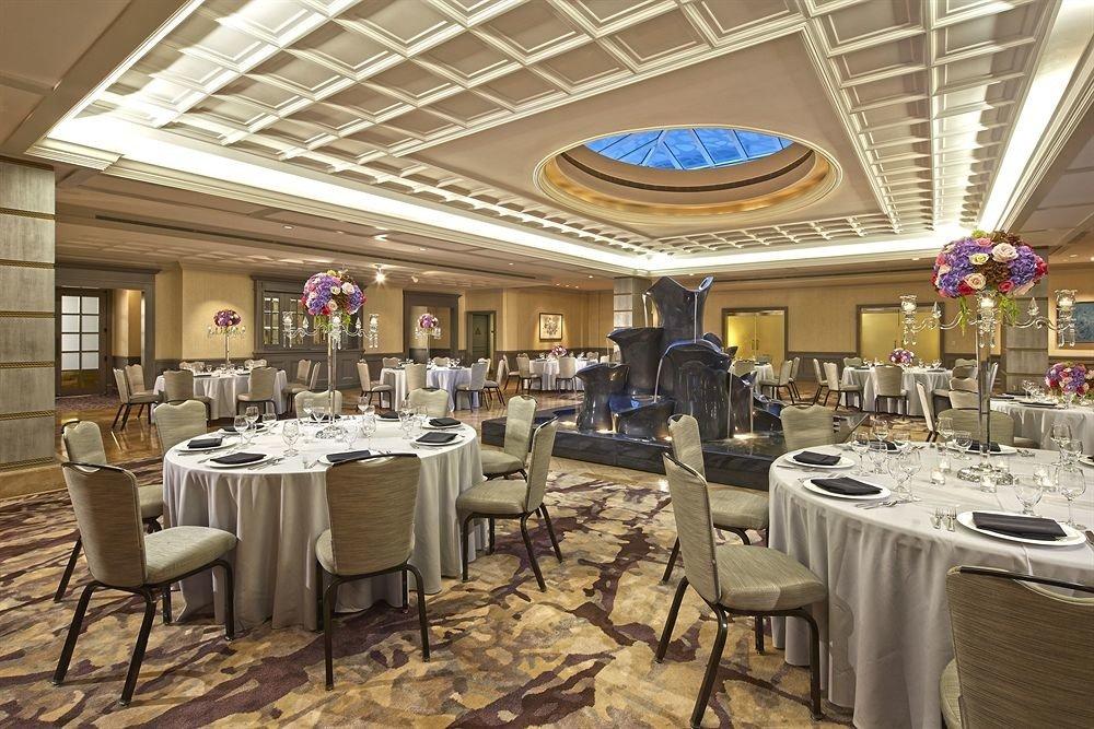 Bar Drink Eat Luxury Modern chair function hall restaurant banquet ballroom Dining convention center set