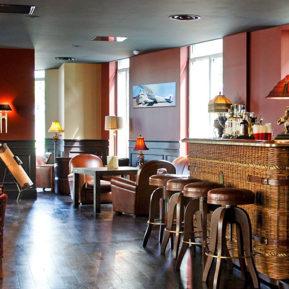 Bar Dining Drink Eat Lounge Modern restaurant café dining table