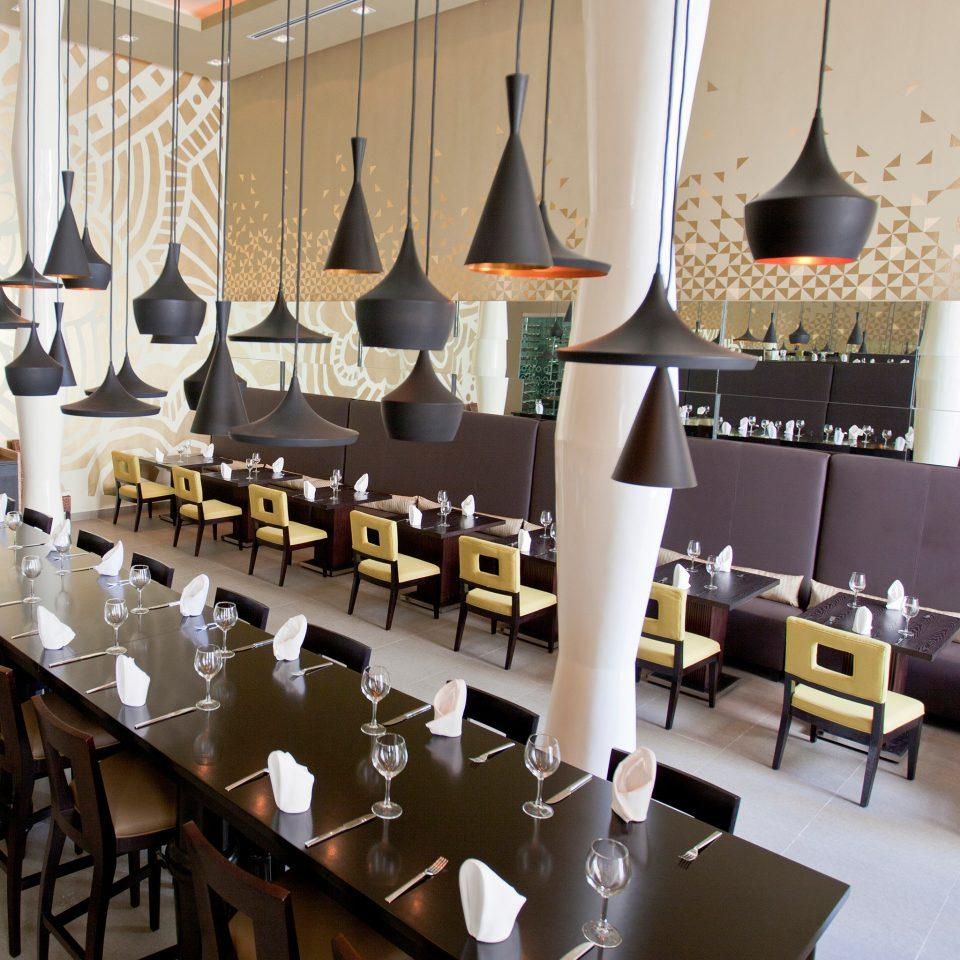Bar Dining Drink Eat Hip Luxury Modern Romantic restaurant function hall aisle