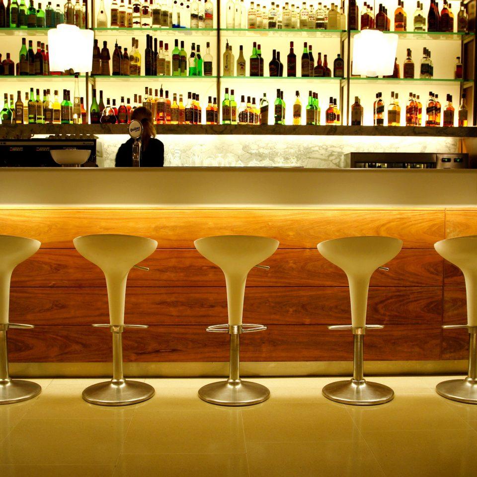 Bar Dining Drink Eat Luxury Modern wine glasses restaurant empty