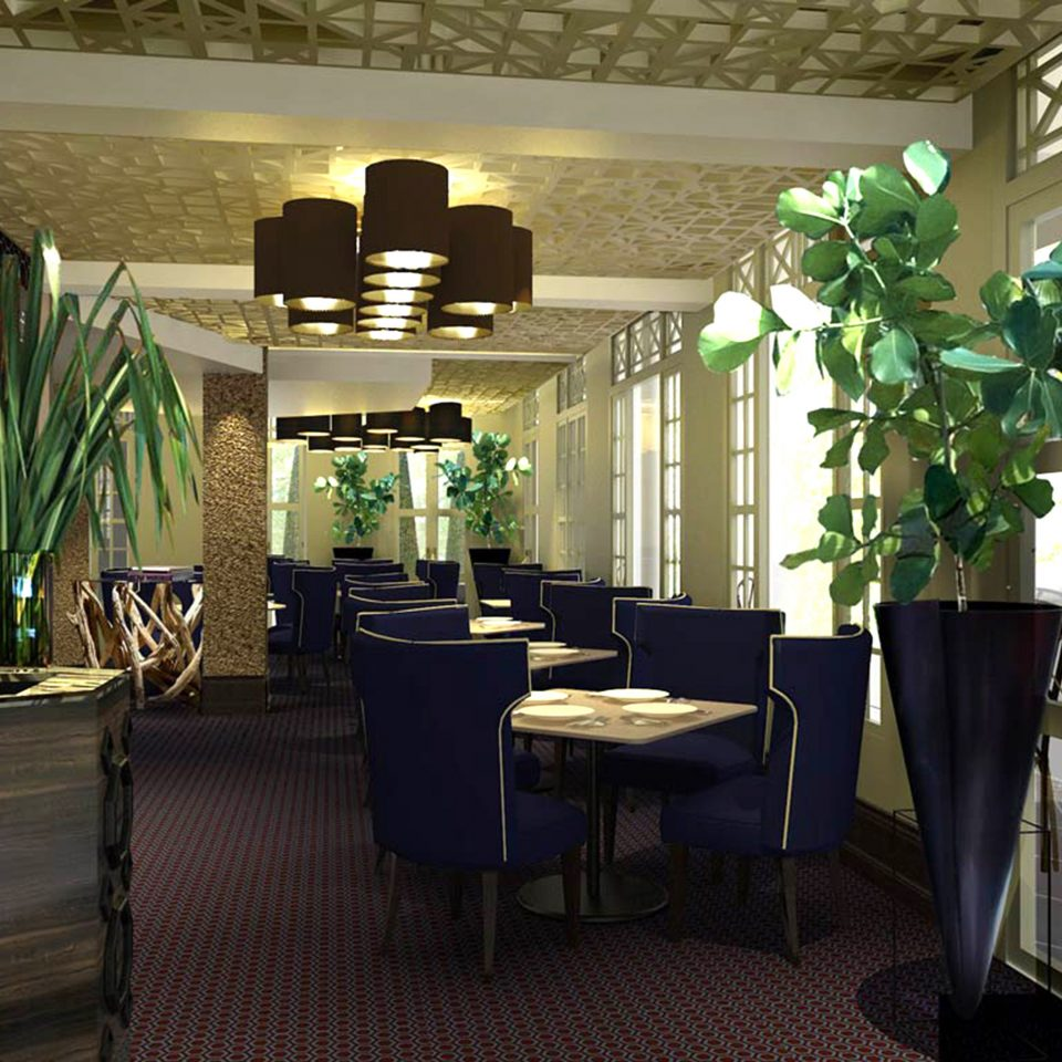 Bar Dining Drink Eat Luxury Modern restaurant Lobby home plant