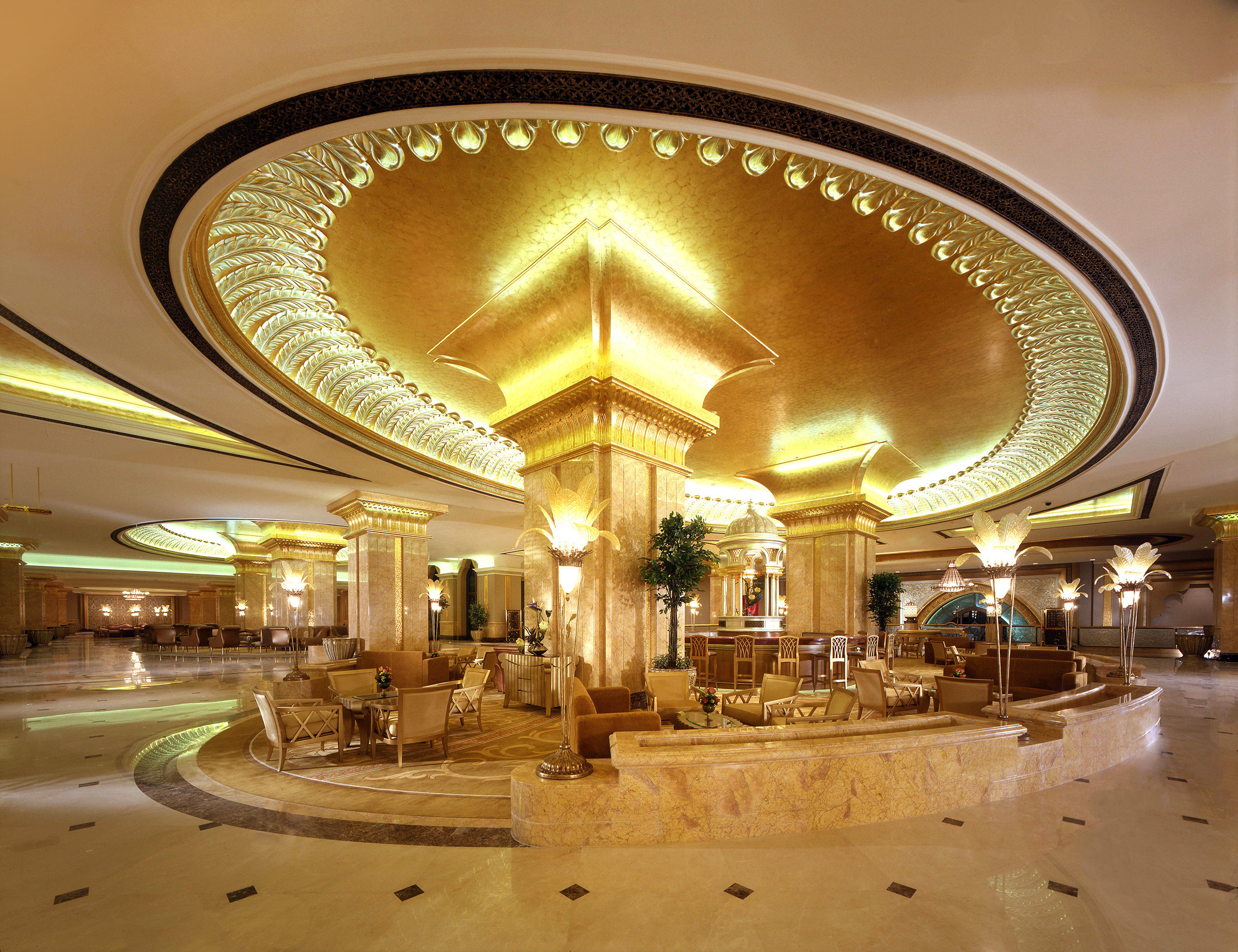 Bar Dining Drink Eat Elegant Luxury Modern Lobby building palace lighting function hall plaza ballroom opera house