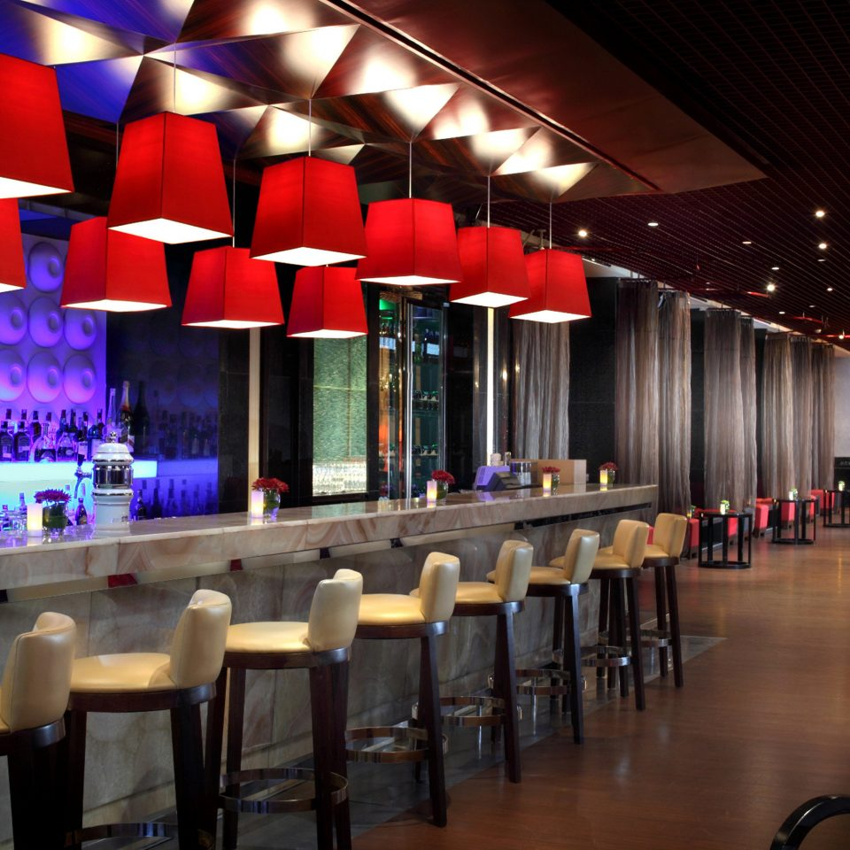 Bar Dining Drink Eat Elegant Hip Luxury Modern chair function hall auditorium nightclub restaurant convention center