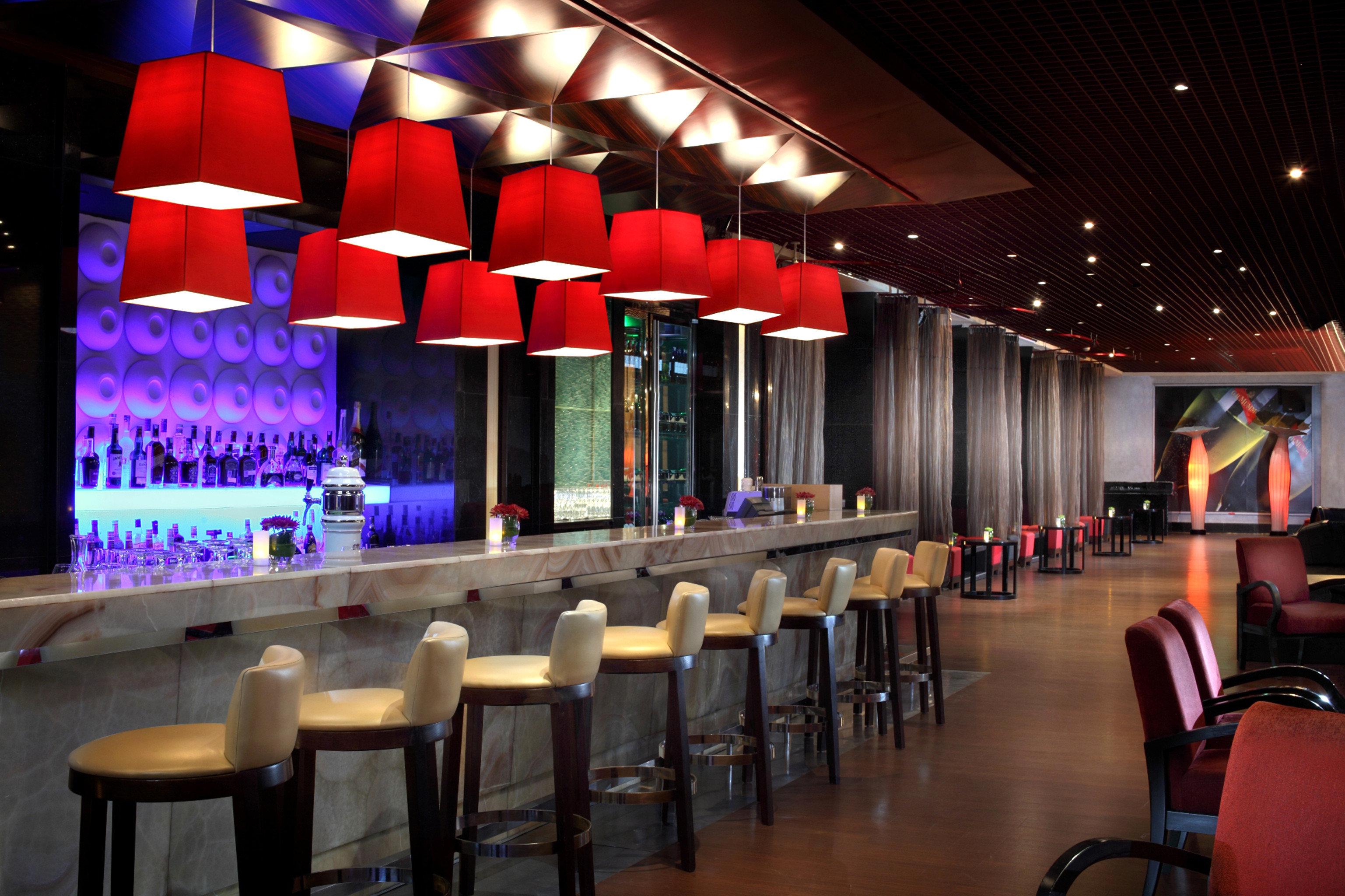 Bar Dining Drink Eat Elegant Hip Luxury Modern chair function hall auditorium nightclub restaurant convention center