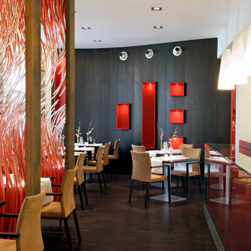 Bar Dining Drink Eat Luxury Modern chair red restaurant function hall Lobby