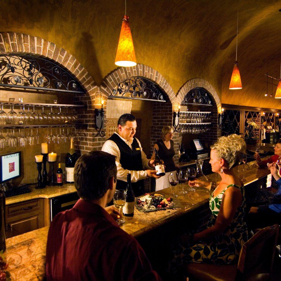 Bar Dining Drink Eat Elegant Wine-Tasting restaurant Winery wine crowd