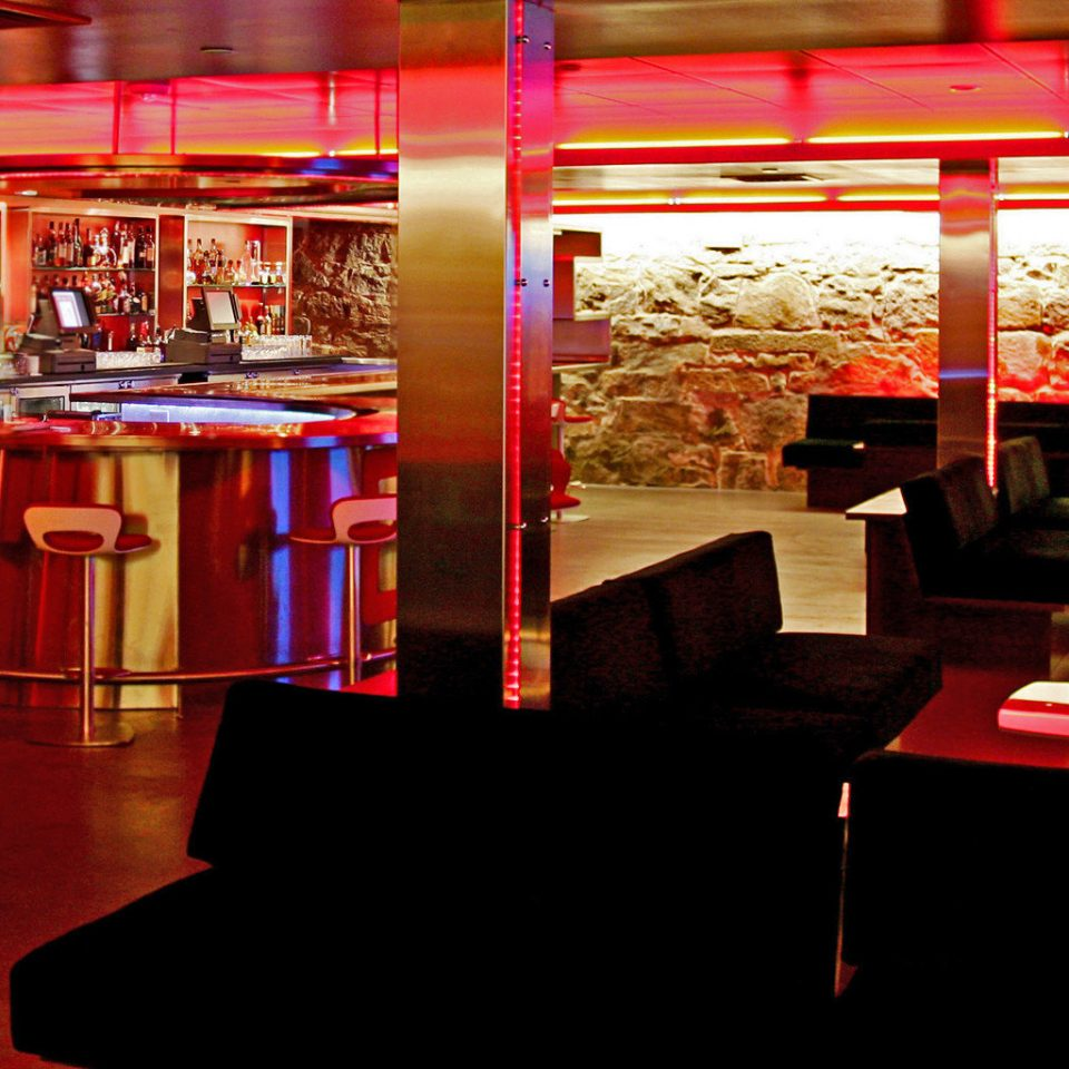 Bar Dining Drink Eat Hip Luxury Modern red restaurant