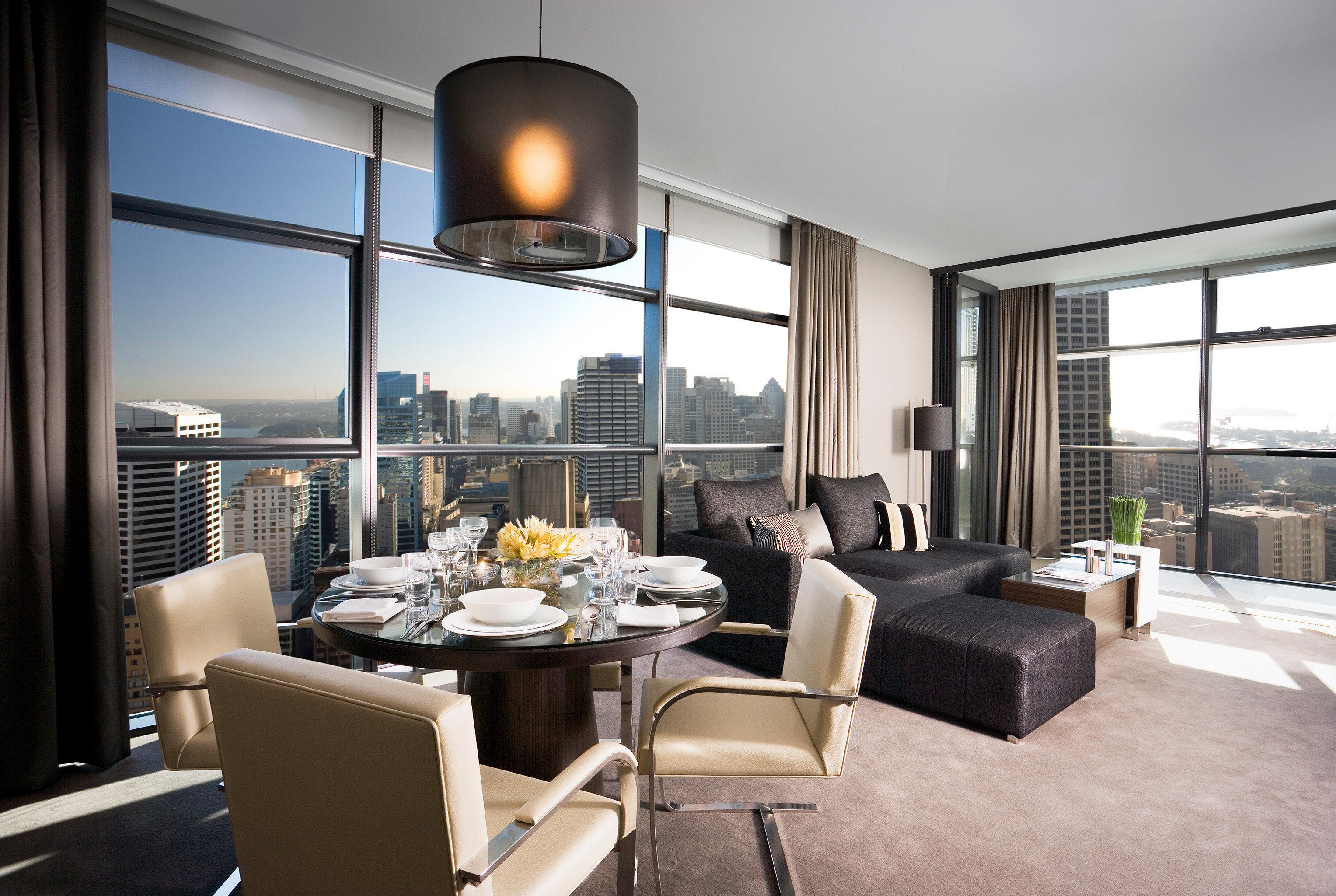 Bar Dining Drink Eat Luxury Modern living room property condominium home lighting Suite
