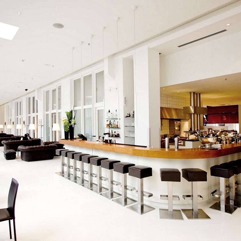 Bar Dining Drink Eat Hip Luxury Modern conference hall function hall Lobby cafeteria restaurant convention center