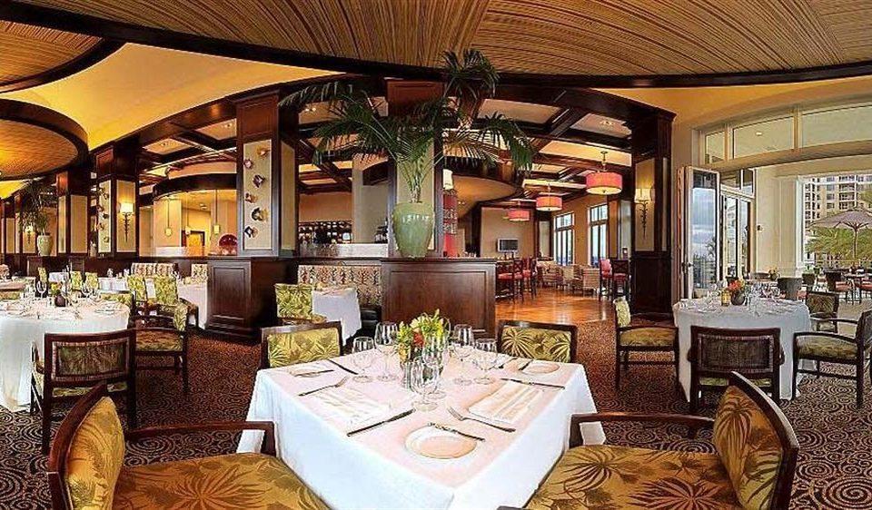 Bar Dining Drink Eat Elegant chair restaurant Resort mansion function hall dining table