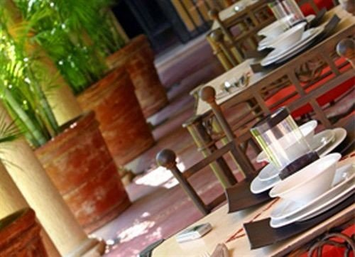 Bar Dining Drink Eat Luxury restaurant cluttered dining table