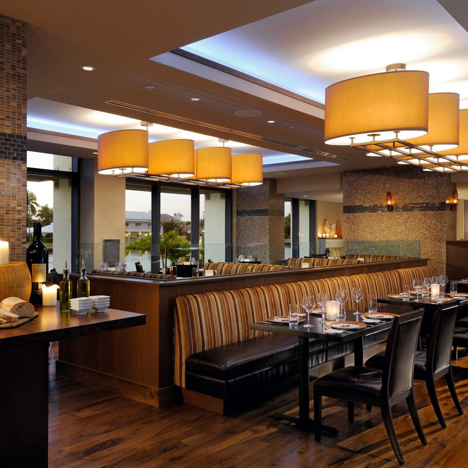 Bar Dining Drink Eat Luxury Modern property Kitchen hardwood home recreation room cabinetry restaurant Island
