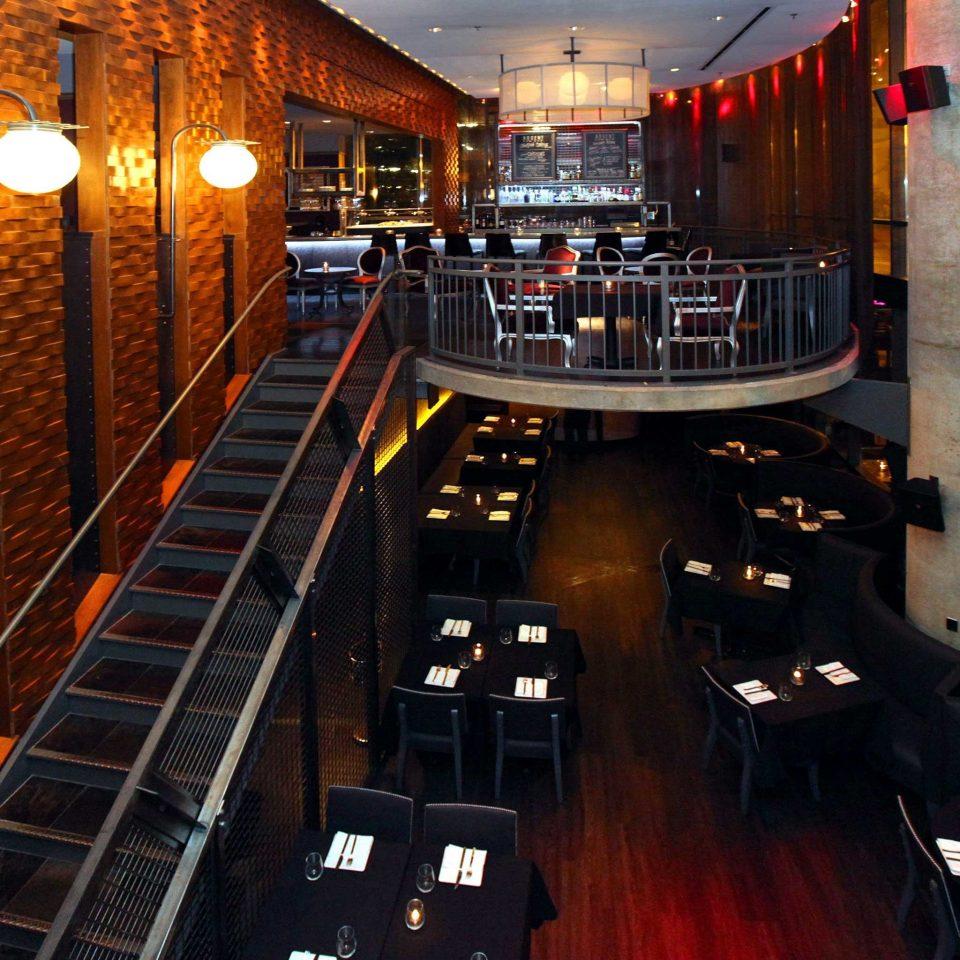 Bar Dining Drink Eat Luxury Modern building night screenshot