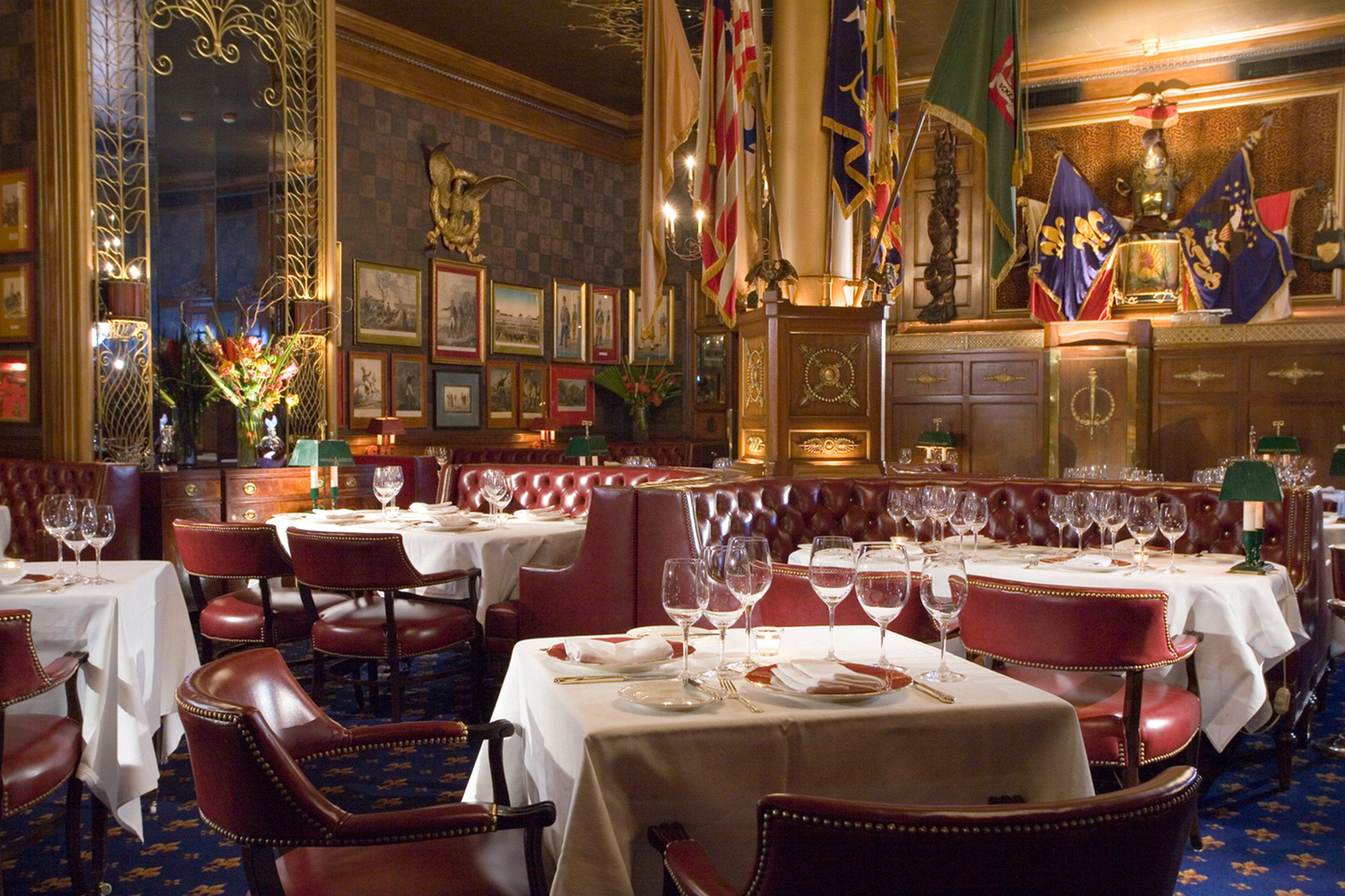 Bar Dining Drink Eat Elegant Historic Hotels restaurant function hall
