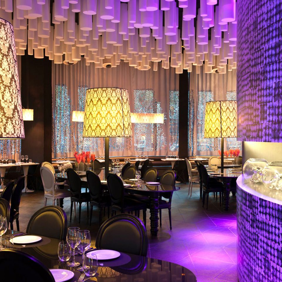 Dining Drink Eat Hip Modern function hall restaurant Bar Lobby nightclub ballroom