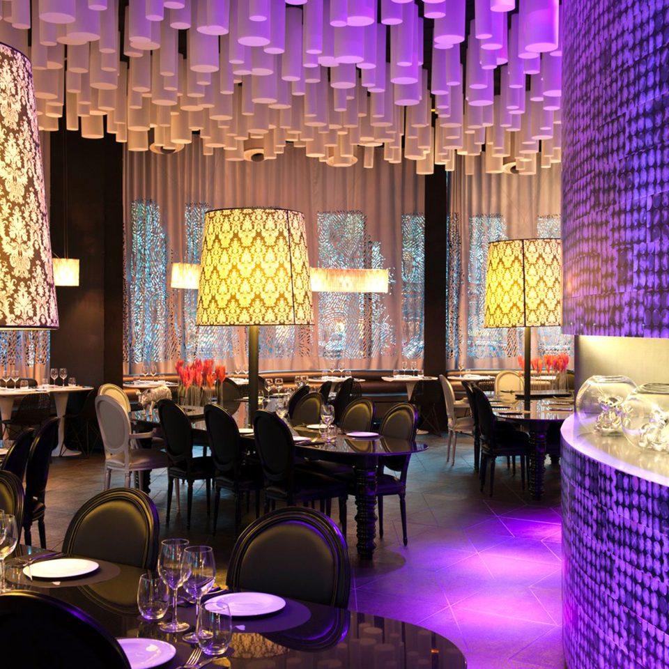 Dining Drink Eat Hip Modern function hall restaurant Bar Lobby nightclub ballroom