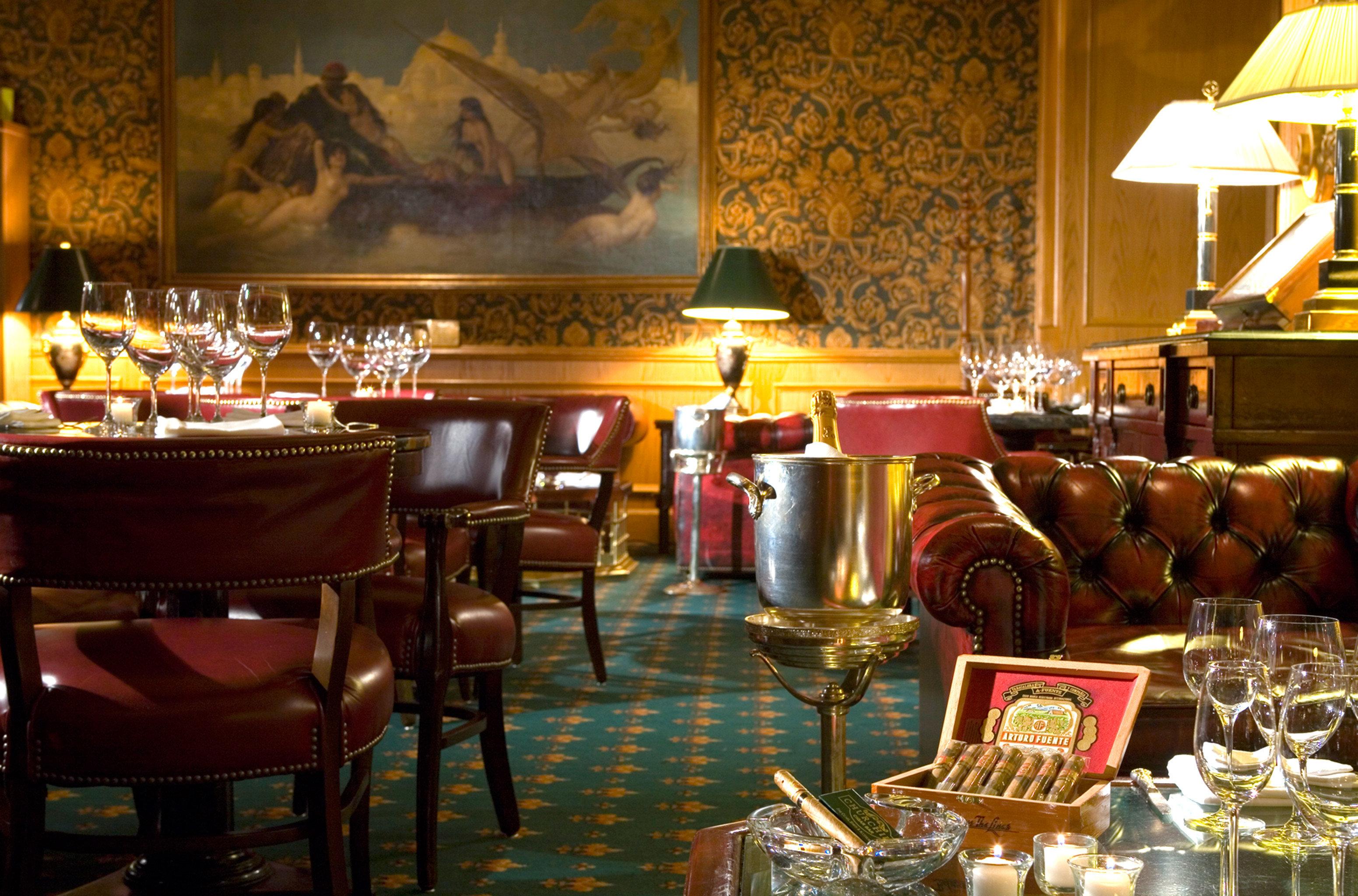 Bar Dining Drink Eat Elegant Historic chair restaurant function hall dinner set dining table