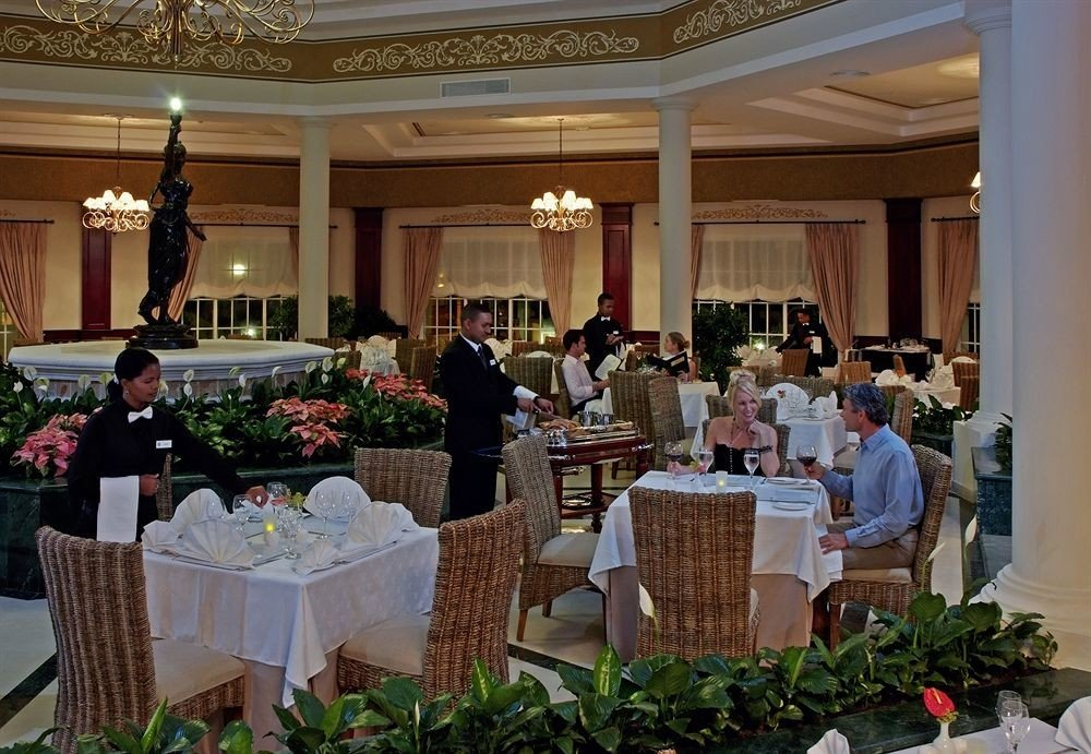Bar Dining Drink Eat Luxury Tropical ceremony function hall banquet event floristry ballroom