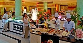 Bar Dining Drink Eat Luxury Tropical lunch floristry buffet preparing brunch restaurant sense counter cooking