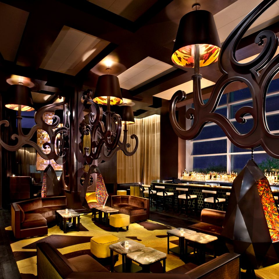 Bar Dining Drink Eat Lounge Luxury Modern restaurant cluttered