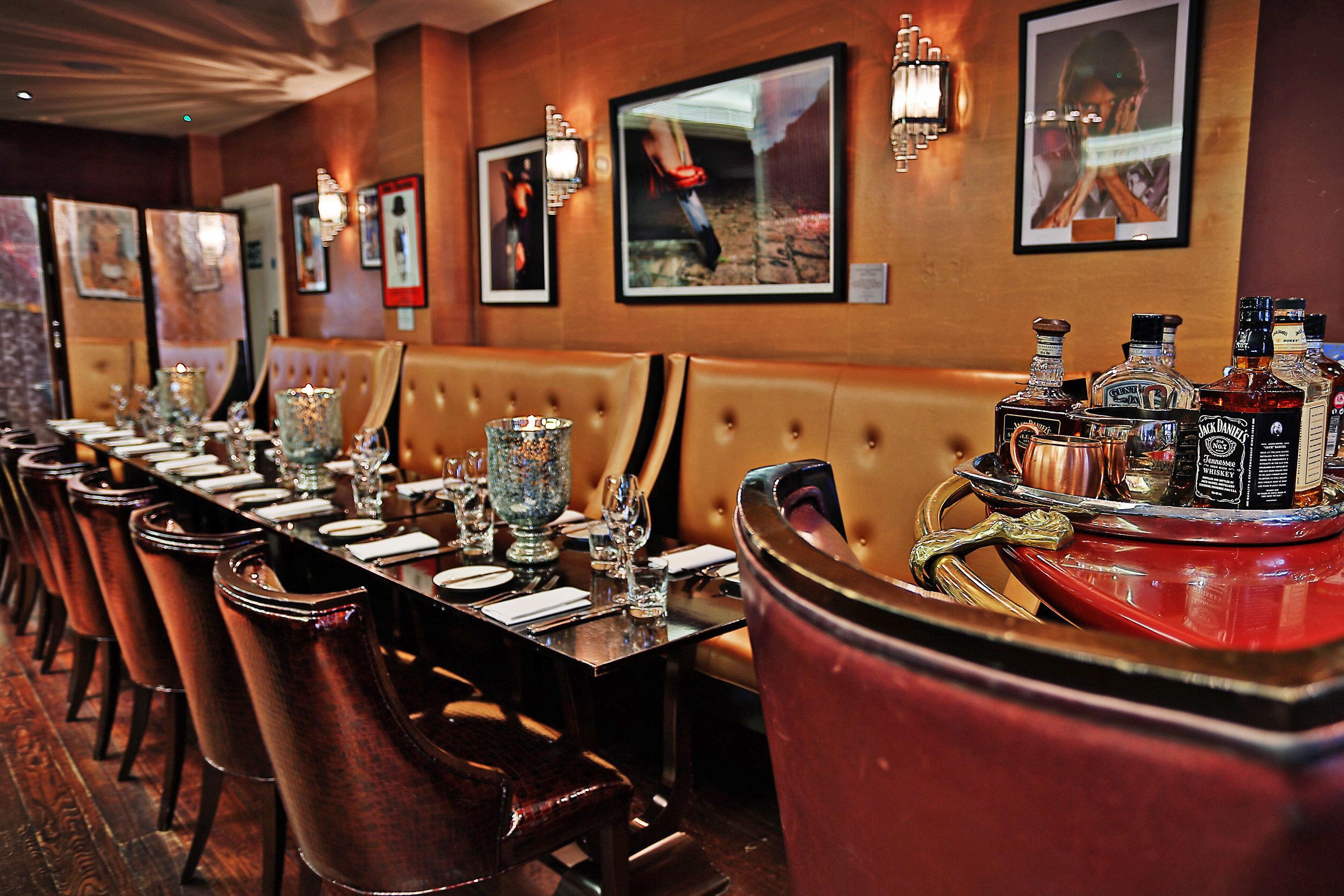 Bar Dining Drink Eat Hip Modern restaurant dining table