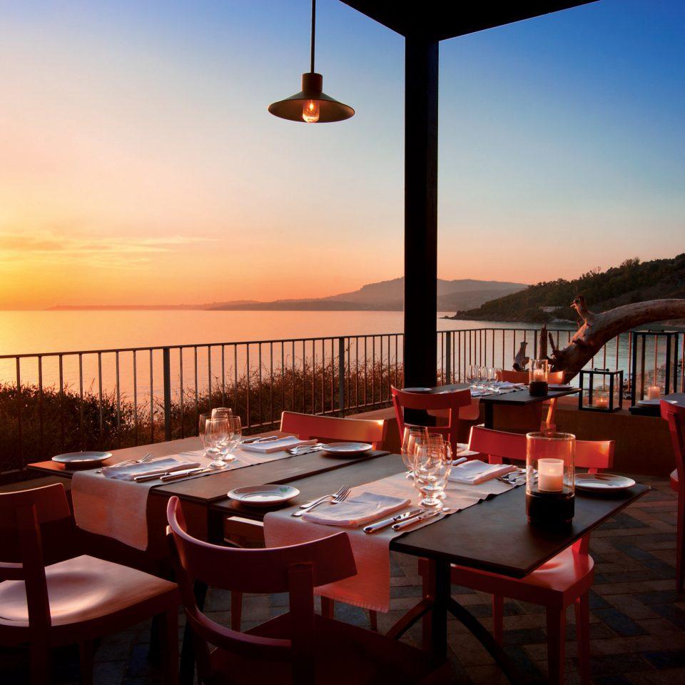 Bar Dining Drink Eat Luxury sky chair restaurant Resort evening set